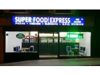 Takeaway close to city centre forsale