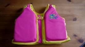 Childs swim aid vest floating aid