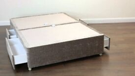 divan bed base with 4 drawers