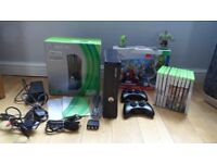 Boxed Xbox 360 S 250GB and Disney Infinity Starter Set 2.0 and 10 games