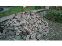 Bricks free to uplift