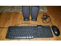Dell keyboard mouse and speakers