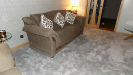 Setee,armchair and footstool