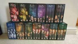 Full boxed set Buffy and Angel VHS