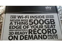 SKY + HD WIFI BOX