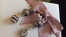 Beautiful genuine pandora charms price is each
