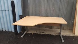 160cm cantilever desks in good condition