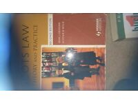 Scots law book for hnc student
