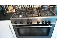 Kenwood range cooker silver