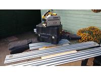 Dewalt DWS520 Plunge Saw + Guide Rails and Bag
