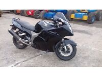 HONDA BLACKBIRD 1137CC STRAIGHT BAR CONVERSION