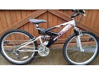"""""""SARACEN"""" FULL SUSPENSION MOUNTAIN BIKE/BICYCLE/BIKE"""