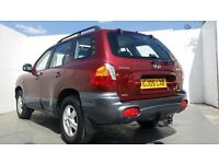 2005 │Hyundai │Santa Fe │ 2.0 CRTD Diesel │Manual │ HPI Clear │ 1 Year MOT │ Immaculate 4x4