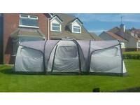 Coleman xponent 6 berth tent + carpet