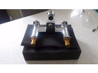 Bath mixer tap with shower diverter