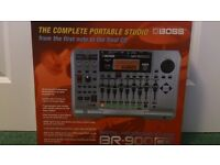 BOSS BR900CD Digital Multi Track Recorder - in original box with manual