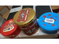 Tins/containers