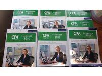 Schweser 2015 CFA Level 1 Textbooks