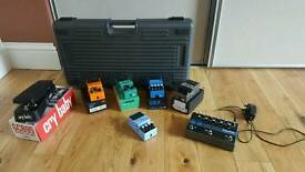 Boss pedals,Pedal board Eventide Time factor Delay Efect