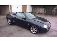 MG MGF Steptronic, 2001, Y reg, 77k, graphite grey, includes hard top.