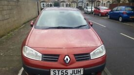 Red Renault Megane