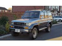 Toyota Landcruiser Prado LWB EX 2.4 TD AUTO (1992/J Reg) + 7 SEATER + 70 SERIES + AIR CON + SUNROOF