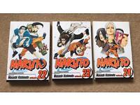 Set of 3 Naruto books