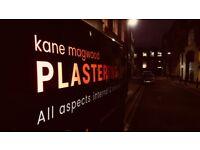 Plasterer/Renderer for Wednesday 30th