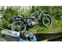 Yamaha DT 250 1978 model spare or repairs