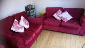2 and 3 seater sofas.