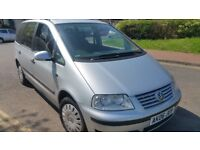 2006 SILVER DIESEL VOLKSWAGEN SHARAN....MOT TILL APRIL 2019
