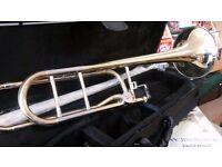 Bach Elkhart Pro 200TBFO large bore Bb/F Trombone
