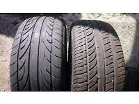 Assorted 215/55/16 tyres
