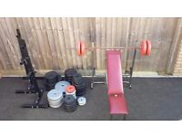 Gym Equipment Joblot Weights Bars Stands Benches Norwich