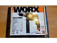 Worx variable speed hammer drill - new in box