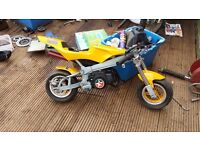 Mini / midi moto not pitbike pit bike quad motorbike