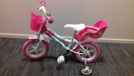 BARBI GIRL BICYCLE - LIKE NEW