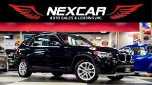 2015 BMW X1 XDRIVE AUT0 AWD LEATHER PANO/ROOF BLUETOOTH 137K