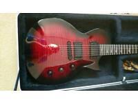 Kramer assault electric guitar with hardcase