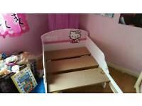 Hello kitty junior bed