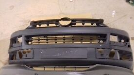 Vw transporter front grille and bumper