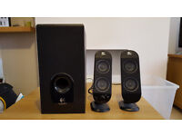 Logitech Speakers & Sub for Sale