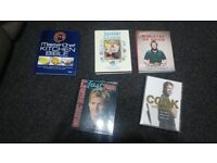 HARDBACK COOKERY BOOKS JAMIE OLIVER GORDON RAMSEY SMOKE/PET FREE HOME