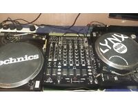 soundlab direct drive turntables and mixer