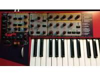 Nord Lead 2x, Virtual Analog Synthersizer. With orginal case cover
