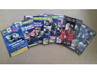 World Superbike Programmes 2007 to2017