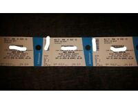 3 x Gary Barlow tickets for Aberdeen Sat 21st April **face value**