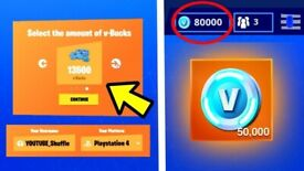 FORTNITE GENERATOR - FREE VBUCKS NEW aug glitch