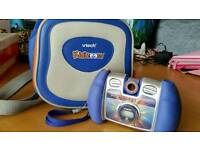 Vtech kidizoom digital camera with carry case