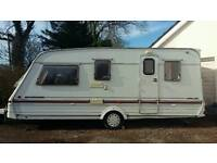 5 berth touring caravan